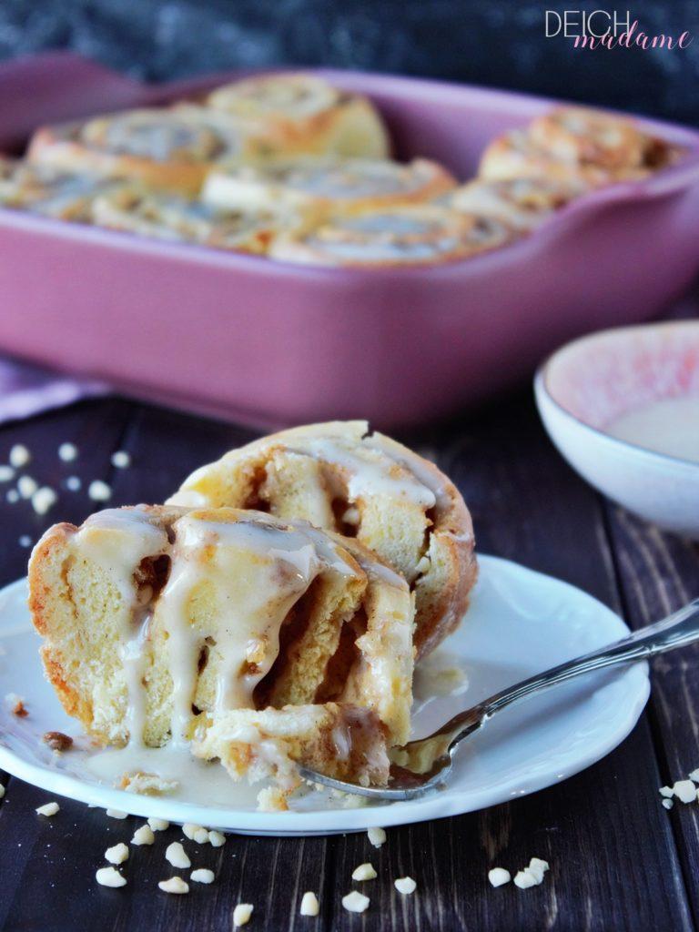 Apple Pie-Zimtschnecken