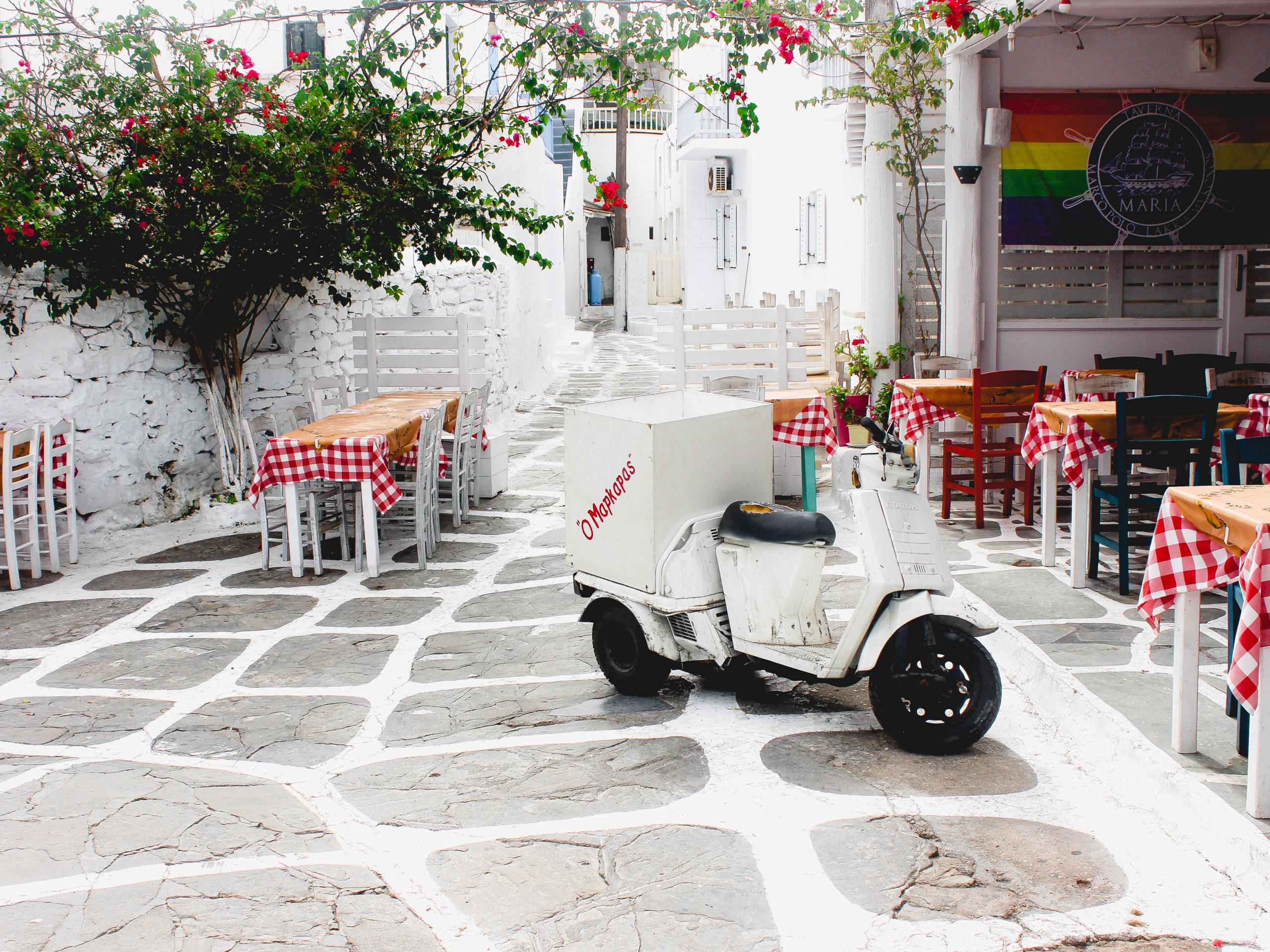 Mykonos Stadt - Restaurant